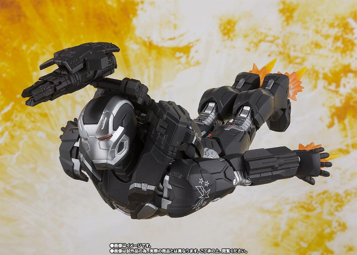 Bandai Tamashii Nations SH Figuarts Avengers Endgame War Machine Mark 4 promo 05