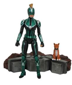 Diamond Select Marvel Select Starforce Captain Marvel Promo 01