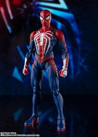 Bandai SH Figuarts Playstation 4 Spider-Man Promo 02