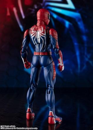 Bandai SH Figuarts Playstation 4 Spider-Man Promo 03