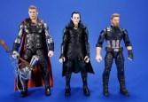 Hasbro Marvel Legends Avengers Infinity War Corvus Glaive and Loki 2 Pack Comparison 07