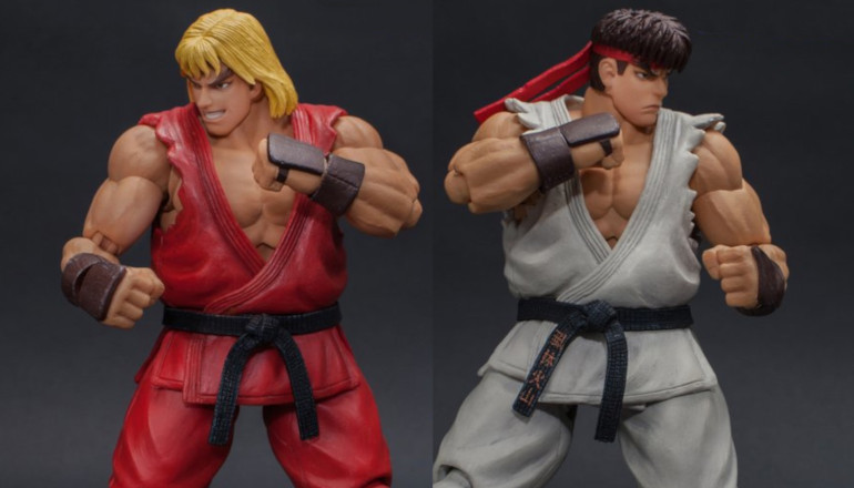 Storm Collectibles Ultra Street Fighter Ii Ken And Ryu Promo