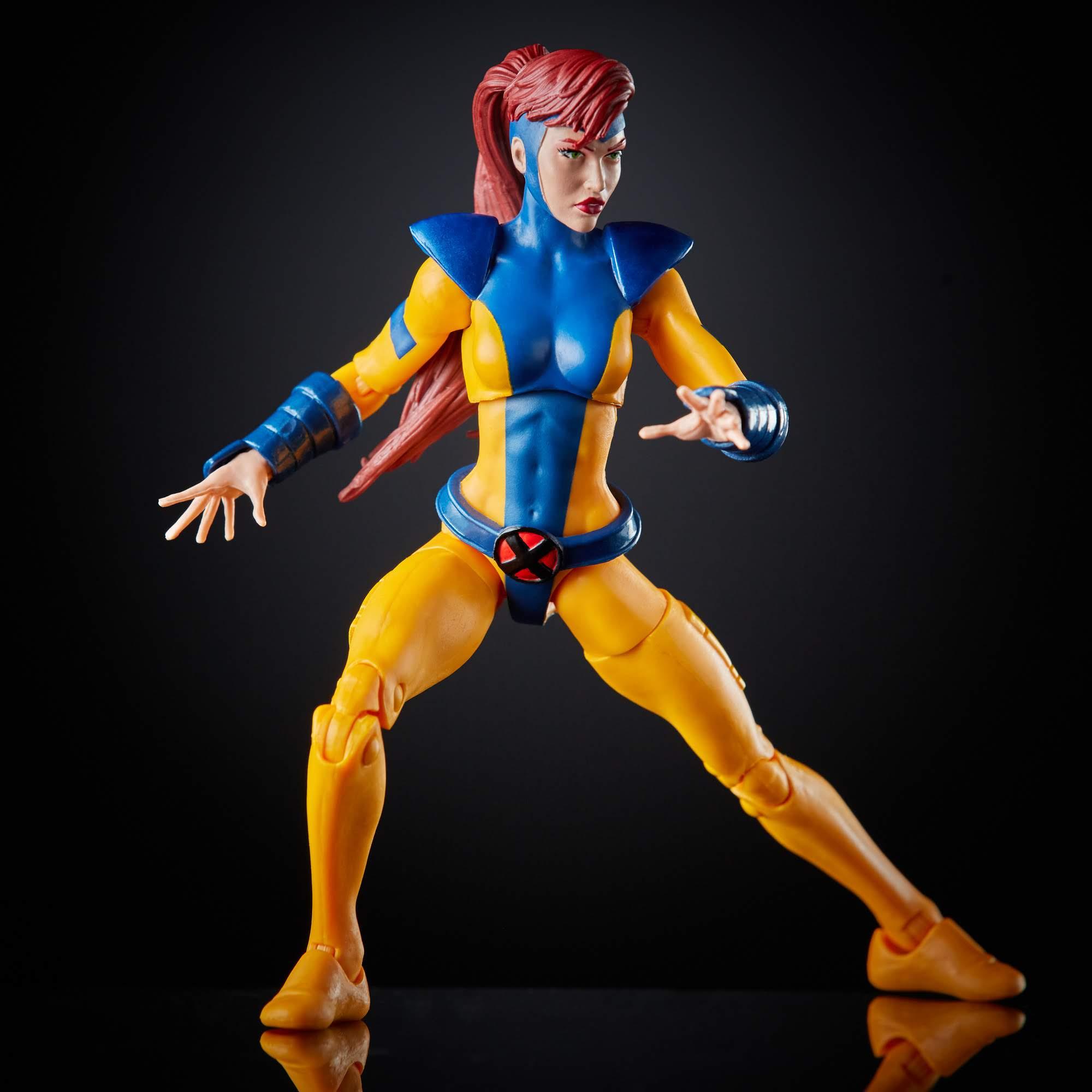 New Hasbro Marvel Legends Fan Channel Exclusive X-Men Jean ...