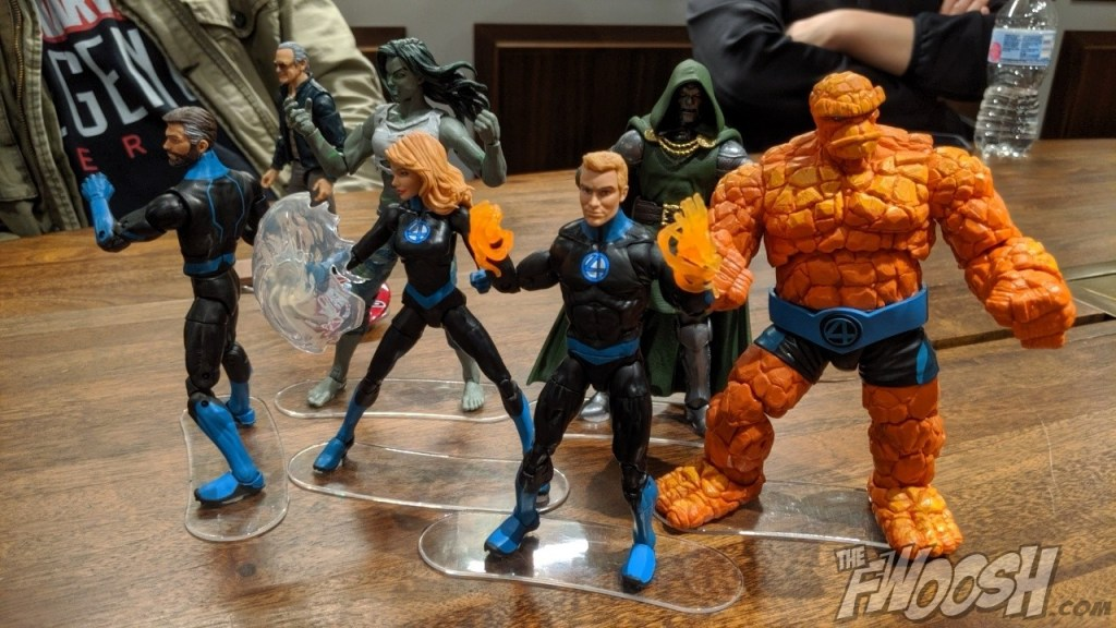 New York Comic Con 2020.New Marvel Legends Fantastic Four And X Force At New York