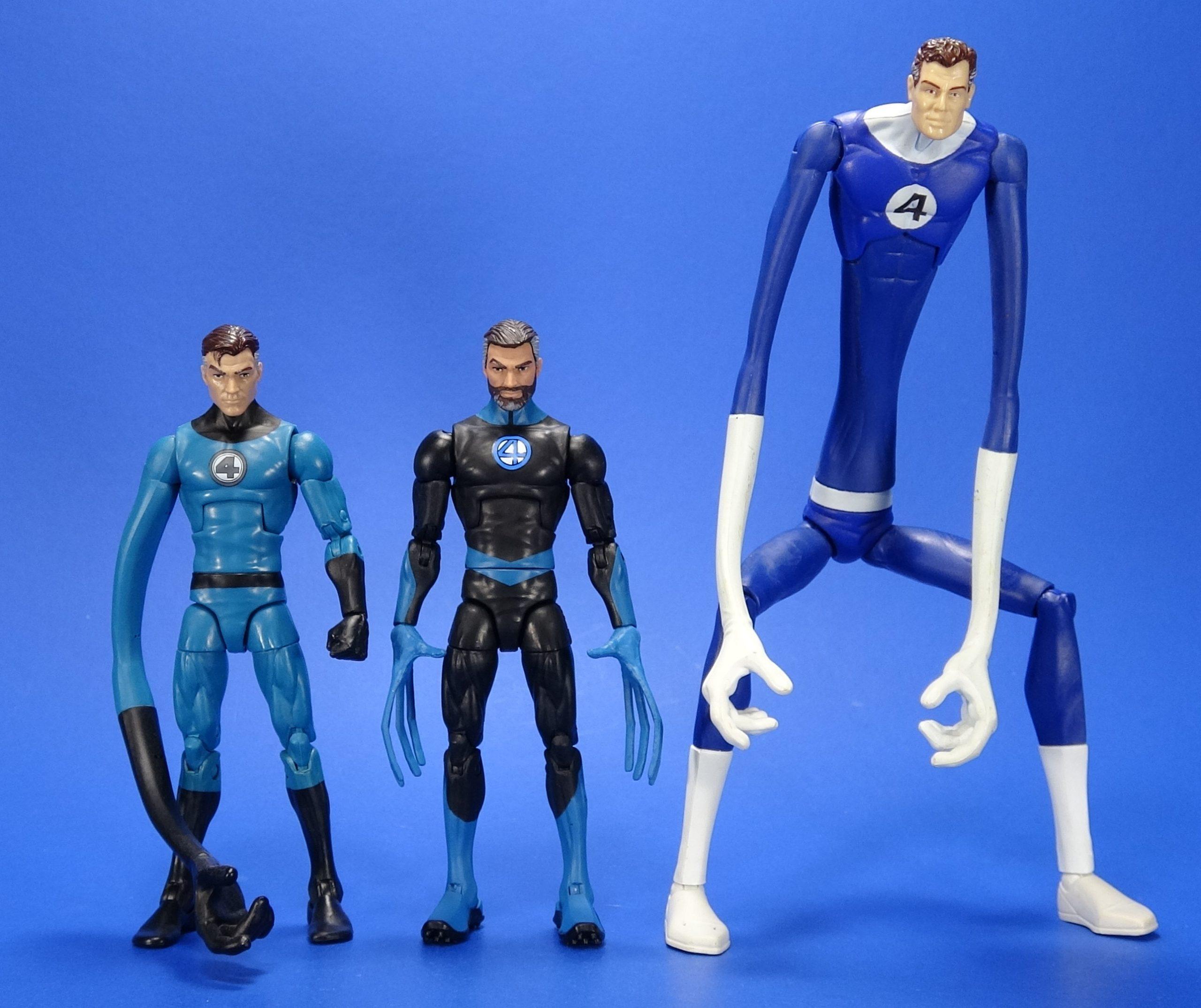 Marvel Legends Fantastic Four MR FANTASTIC Figure Without Head