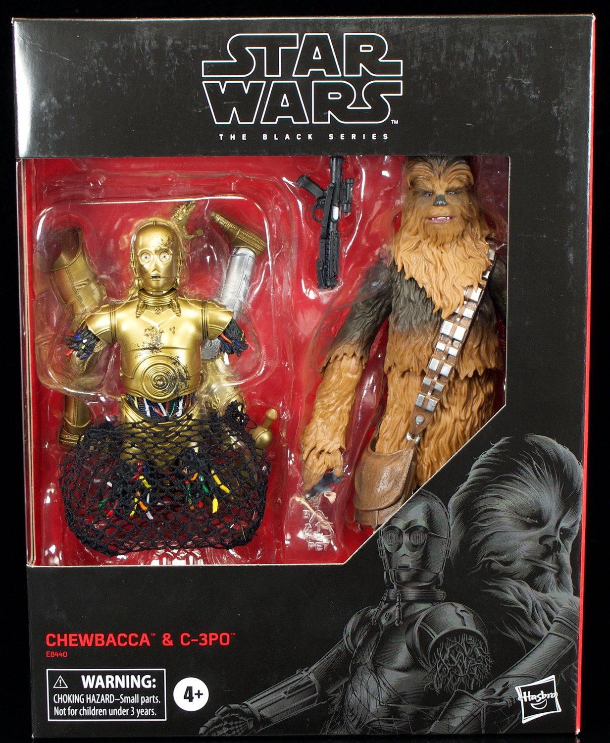Hasbro Star Wars Black Series Chewbacca And C 3po Review