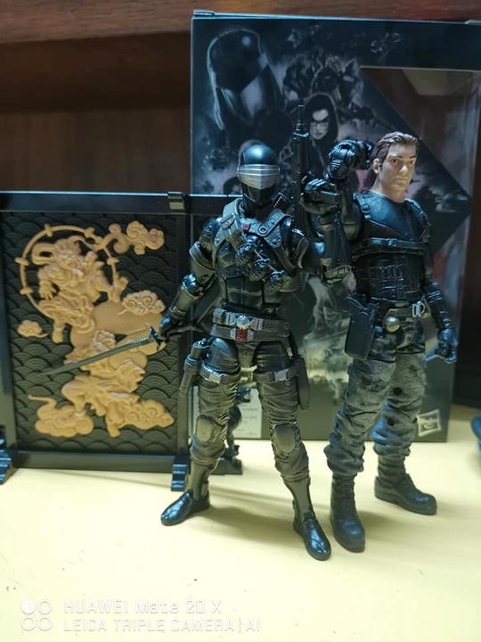 G.I JOE classées série SNAKE EYES Deluxe Action Figure Hasbro Pulse Pré-vente