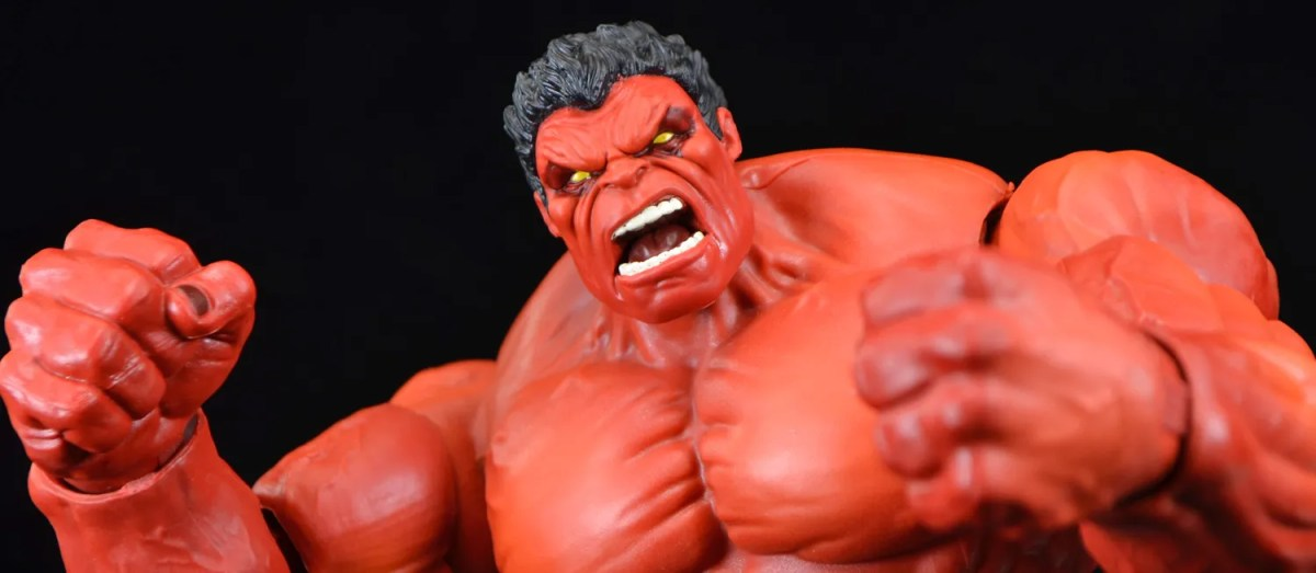 NEW Marvel Legends RED HULK Target Exclusive Brand New Series IN HAND