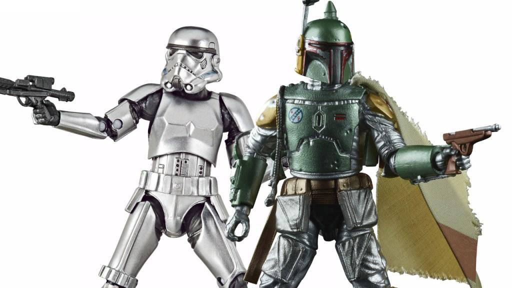"Star Wars Black Series 6"" Carbonized Boba Fett 40th Anniversary *PRE-ORDER*"