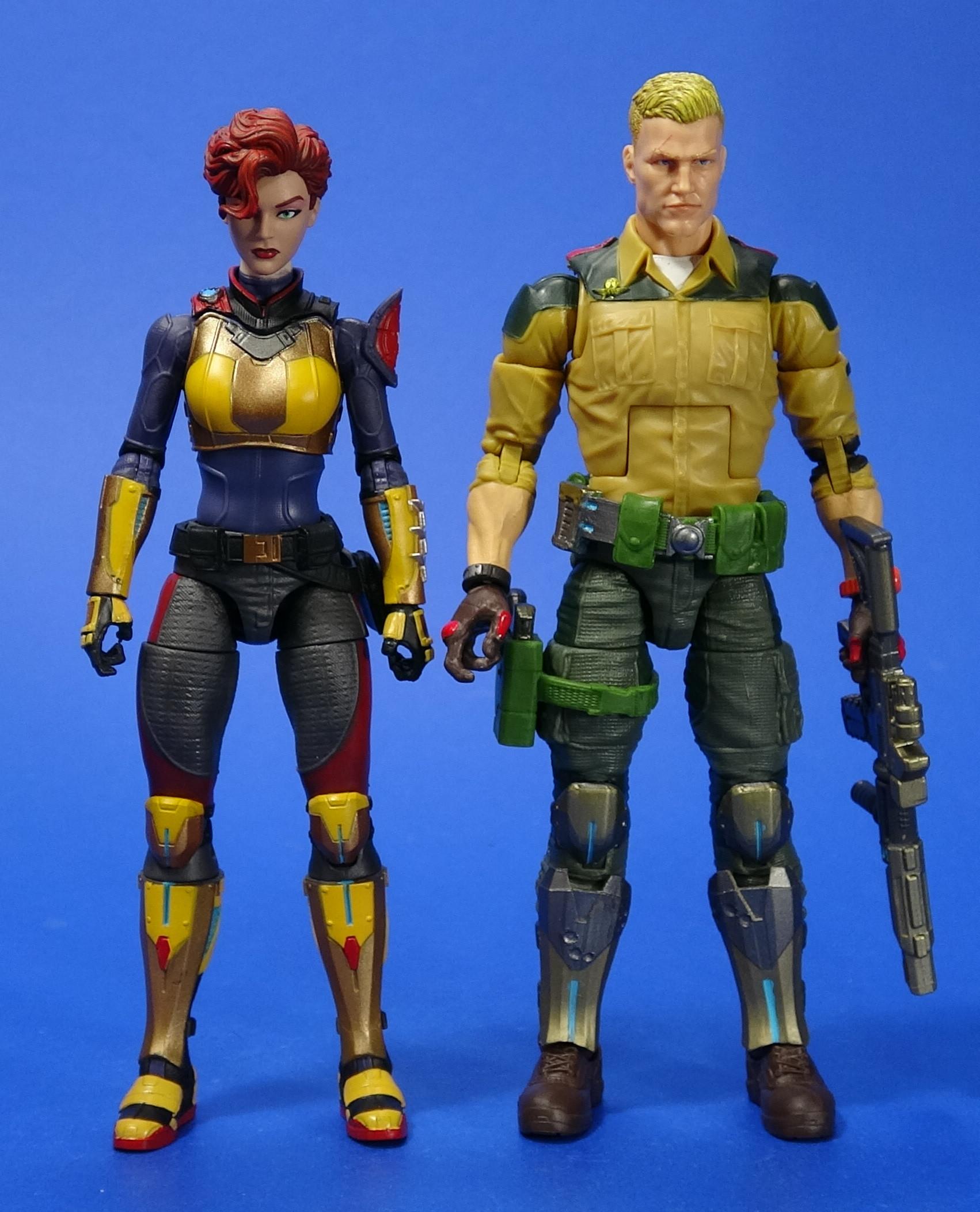 Scarlett G.I Joe Classified Series Action Figure