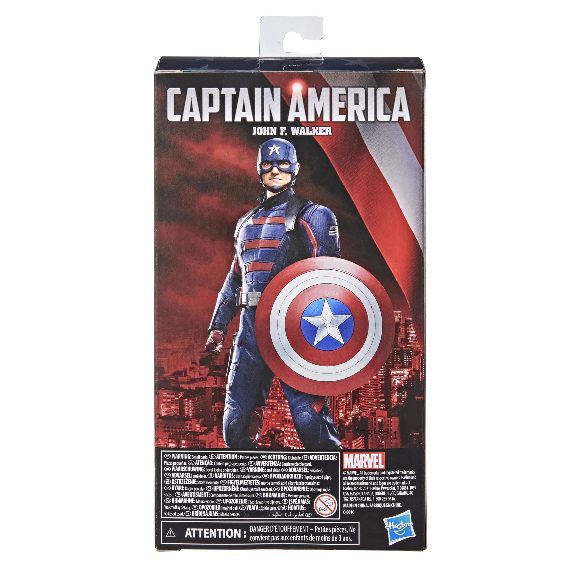 Hasbro: Marvel Legends Falcon and Winter Soldier John F. Walker Captain America Promo Pics and Info – Fwoosh