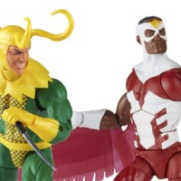 Hasbro: Marvel Legends Retro Falcon and Loki Promo Images and Pre-Orders