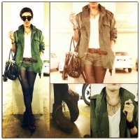 Fashion Style : Flying off in Fierce Utilitarian Chic