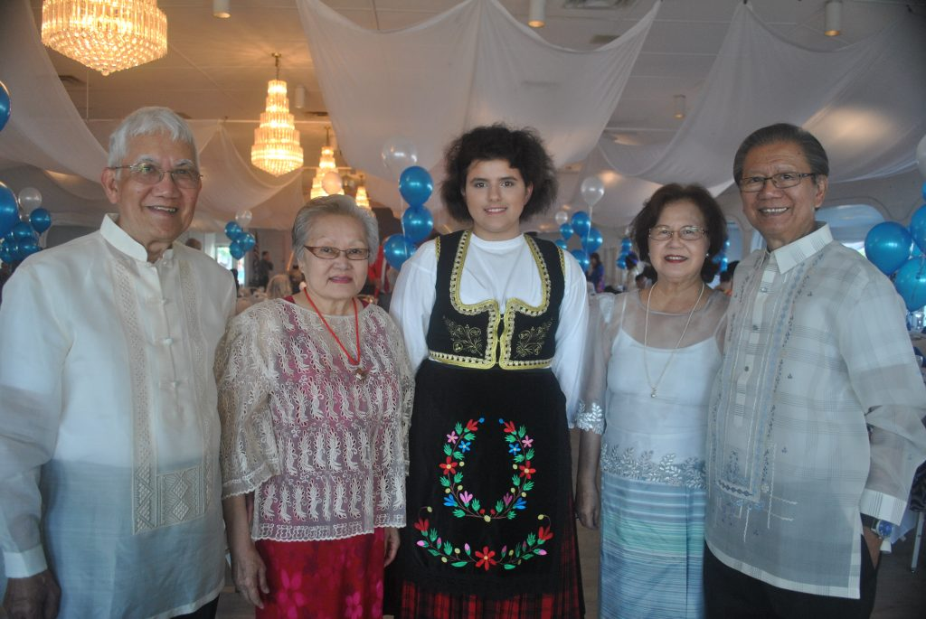 """natives of the Philippians, as well as Tea Bulut, a native of Belgrade, Serbia. Hermates describes the national costume of the Philippians. """"To me, it is called Barong Tagalong. We wear it during special occasions; during weddings, former gatherings, or attending Malacanan palace,"""" Hermates said."""