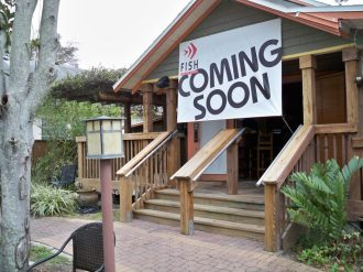 Fish Bar and Grille opening soon at the former location of Peg's.
