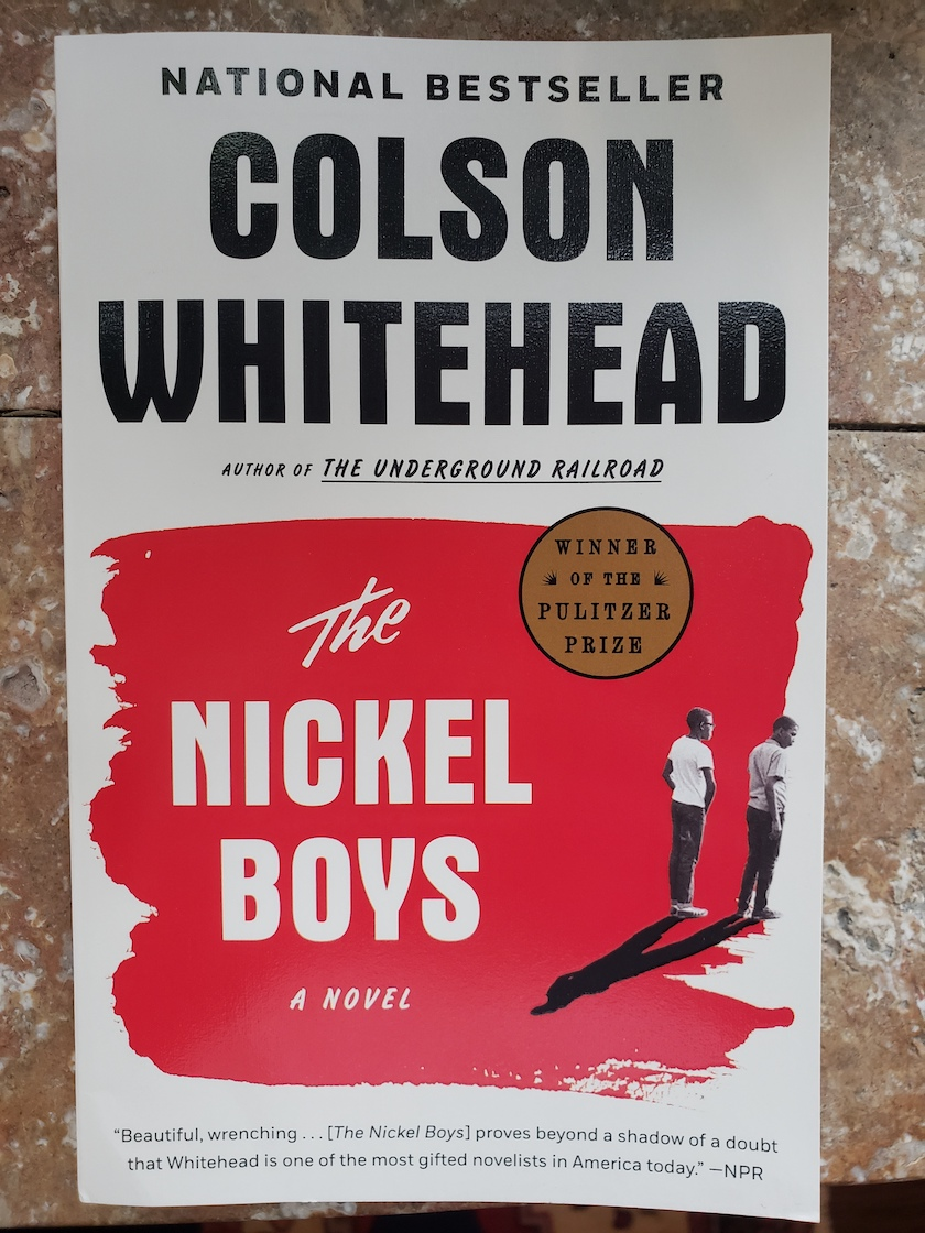 "Colston Whitehead's ""The Nickel Boys"" Cover"