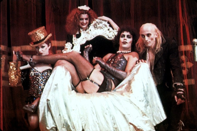 Production still from Rocky Horror Picture Show