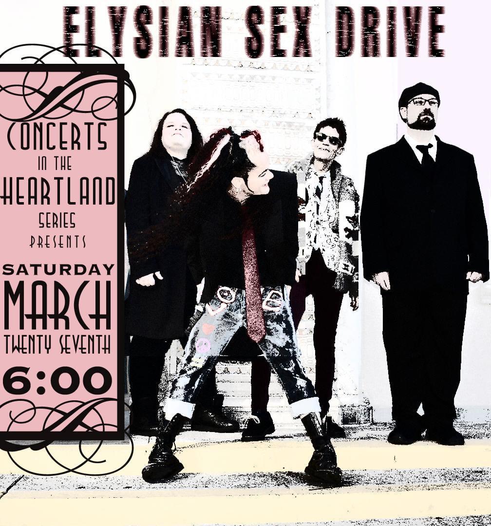 Elysian Sex Drive band poster