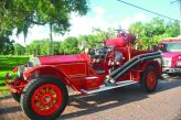 The fire department was able to exhibit their vintage1925 American LaFrance fire truck, restored to its former glory through a prisoner program.