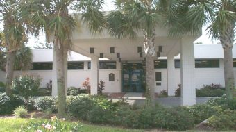 The front of the Gulfport Public Library