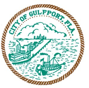 Seal for the city of gulfport