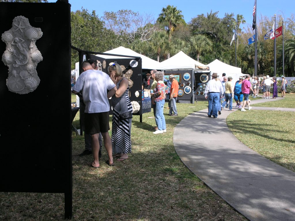 Gulfport's waterfront Veterans Park was transformed into a high quality art venue February 20 and 21 as the city hosted its first ever fine arts show. Organizers called it a big success and said they were already looking forward to the Second Annual Gulfport Masters Art Festival next year.