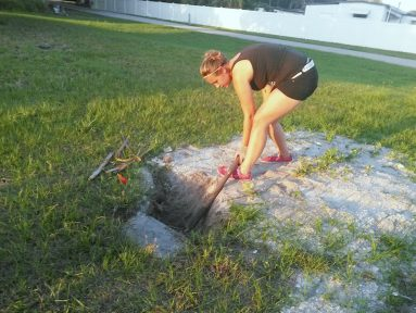 Gulfport resident Vanessa Gray adopted the Lincoln Cemetery as a personal cause in December.