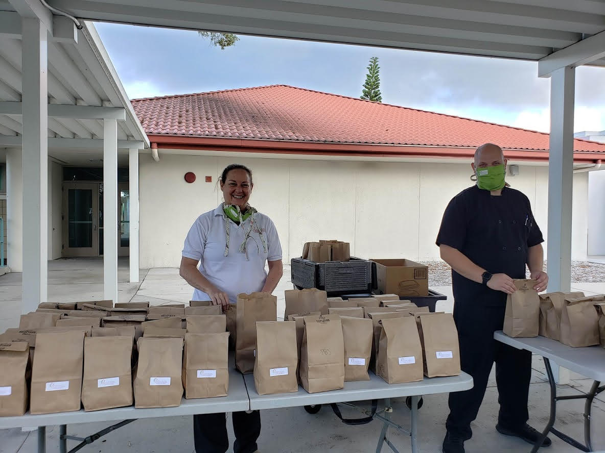 """Gulfport resident and A Fresh Connection Catering Cafe and Bakery owner Chef Lisa Prather created a fundraiser to help local children and families called """"Feed our Future Leaders."""" Photo courtesy of A Fresh Connection."""
