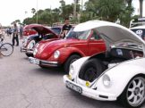 Open wide: VW beetles on view at the seventh annual VW Beach Bash in Pass-A-Grille.