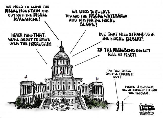 Fiscal Metaphors « THE GABBLER