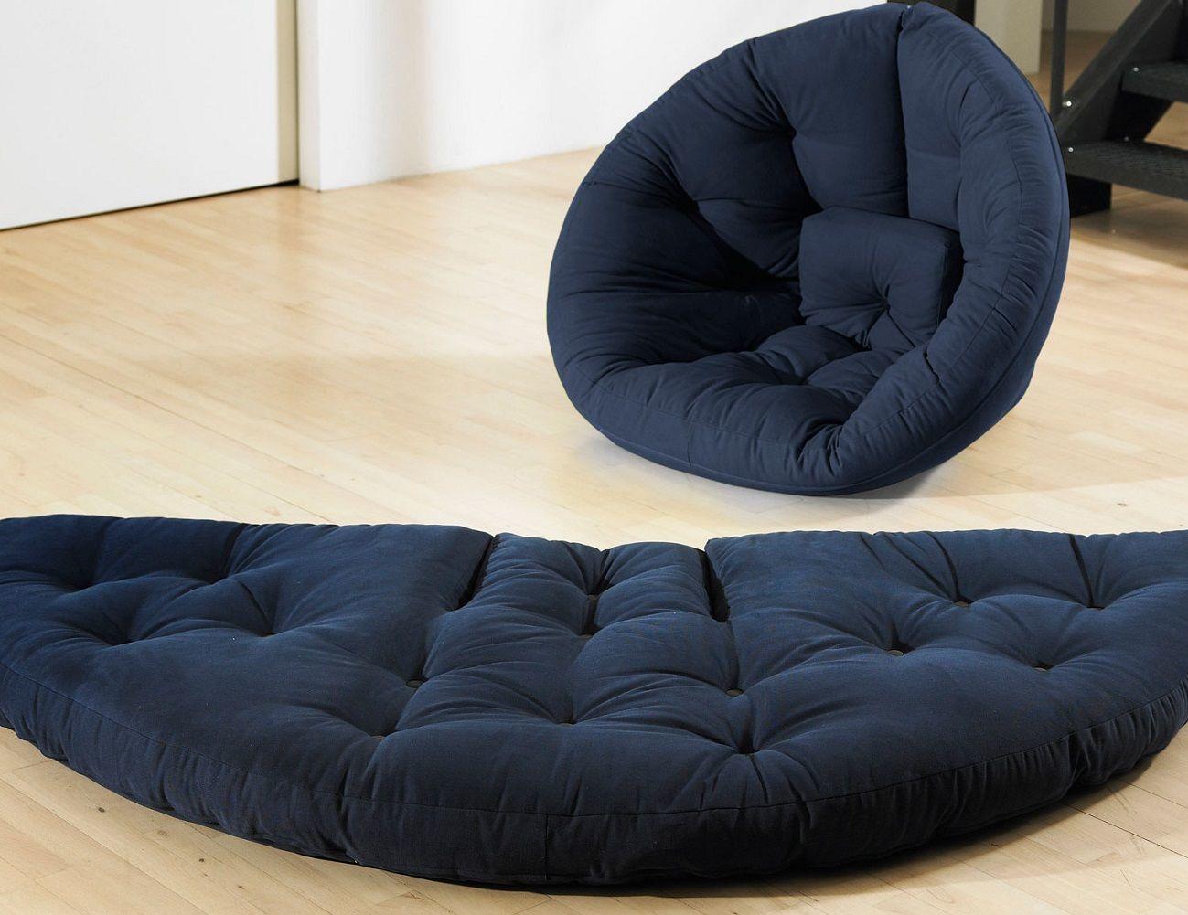 chair to bed convertible office mat 48 x 60 fresh futon nido gadget flow
