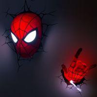 Spider-Man Mask LED Light  Gadget Flow