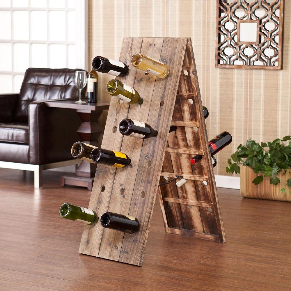 24 bottle riddling rack