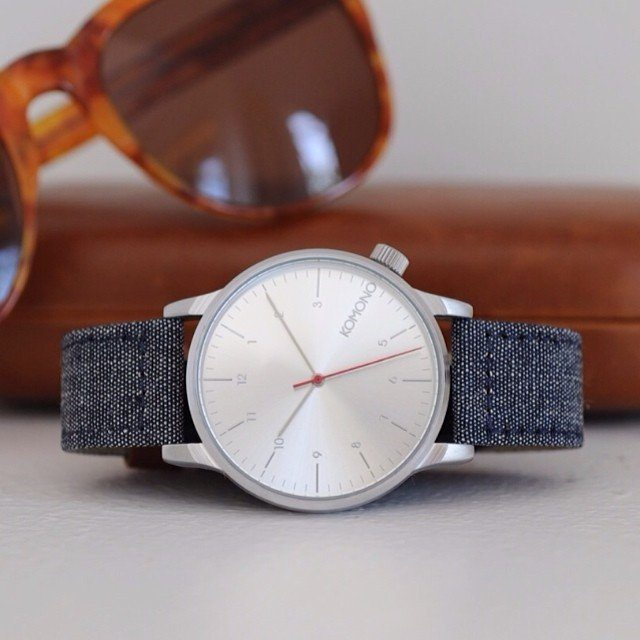 Winston Heritage Chambray Watch by Komono  Review