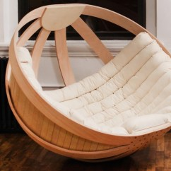 Comfortable Rocking Chair Ladder Back Restaurant Chairs Cradle By Richard Clarkson » Gadget Flow