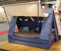 Kids Tent Cabin Canopy Bed  Gadget Flow