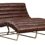 Oviedo Leather Double Wide Chaise
