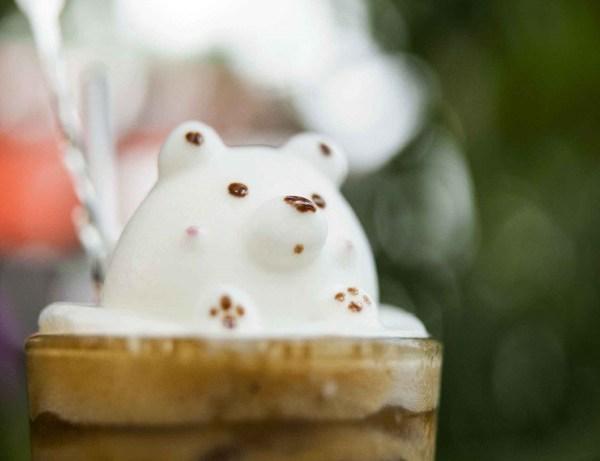3d Latte Art Maker Gadget Flow