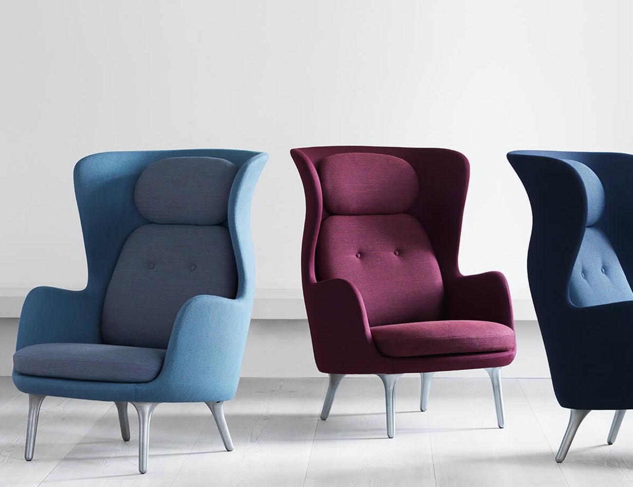 Ro Wingback Chair by Fritz Hansen  Gadget Flow