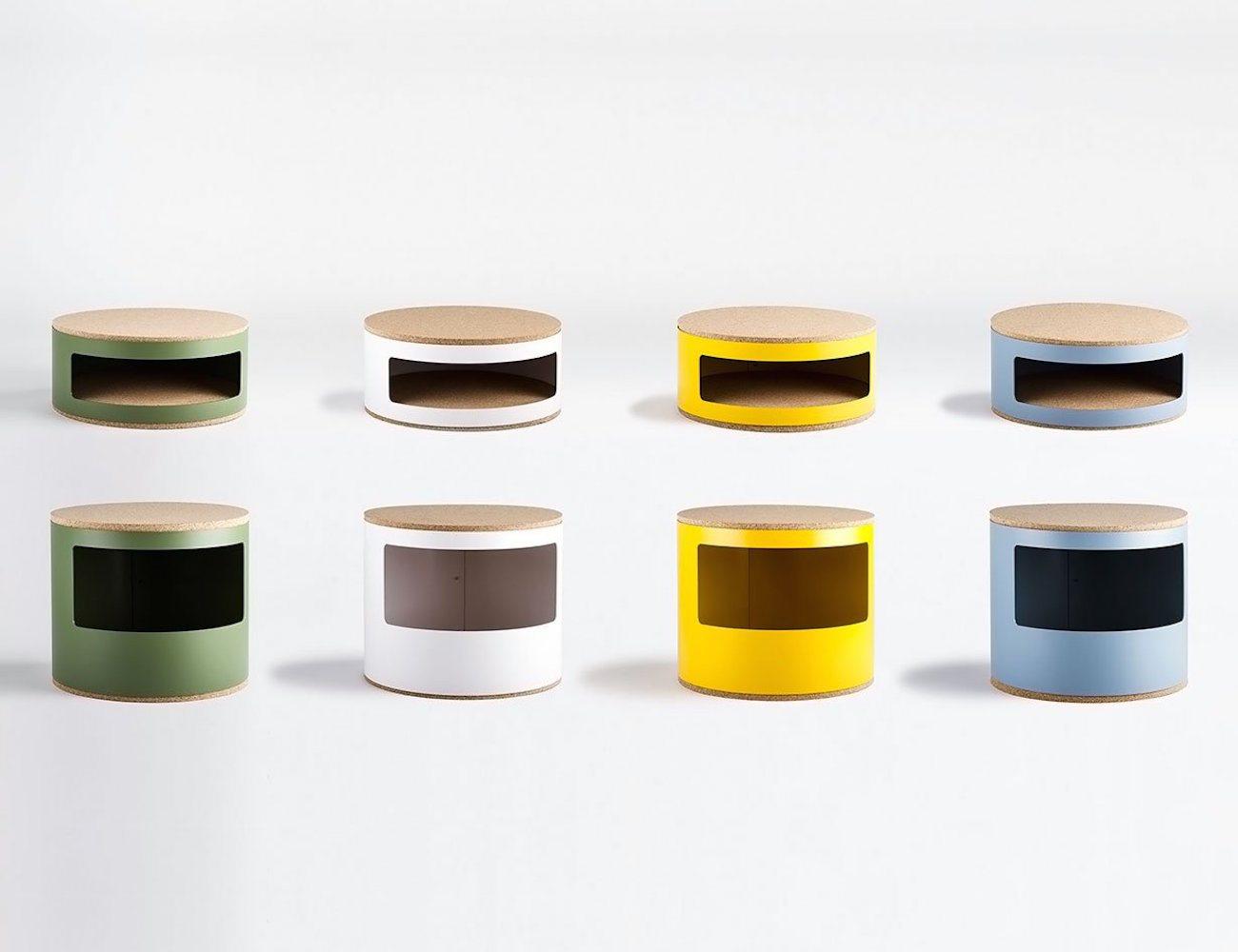 Kork Small Bedside Table  Gadget Flow
