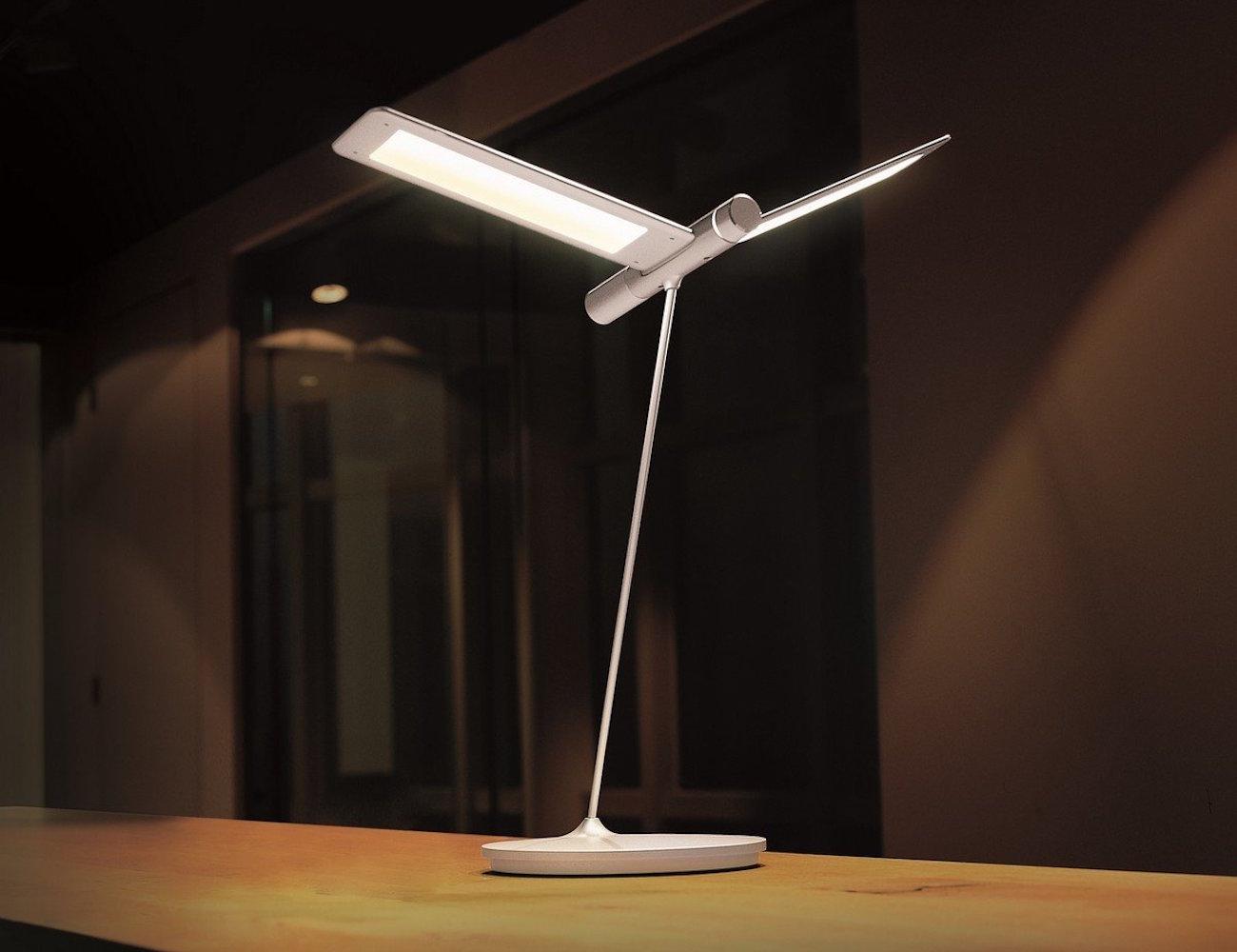 Seagull LED Desk Lamp by QisDesign  Gadget Flow