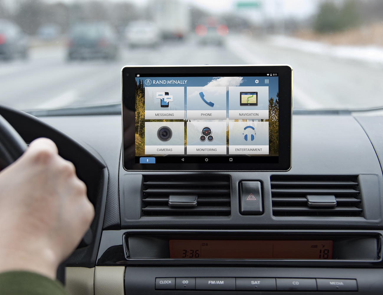 OverDryve Dashboard Tablet by Rand McNally  Review