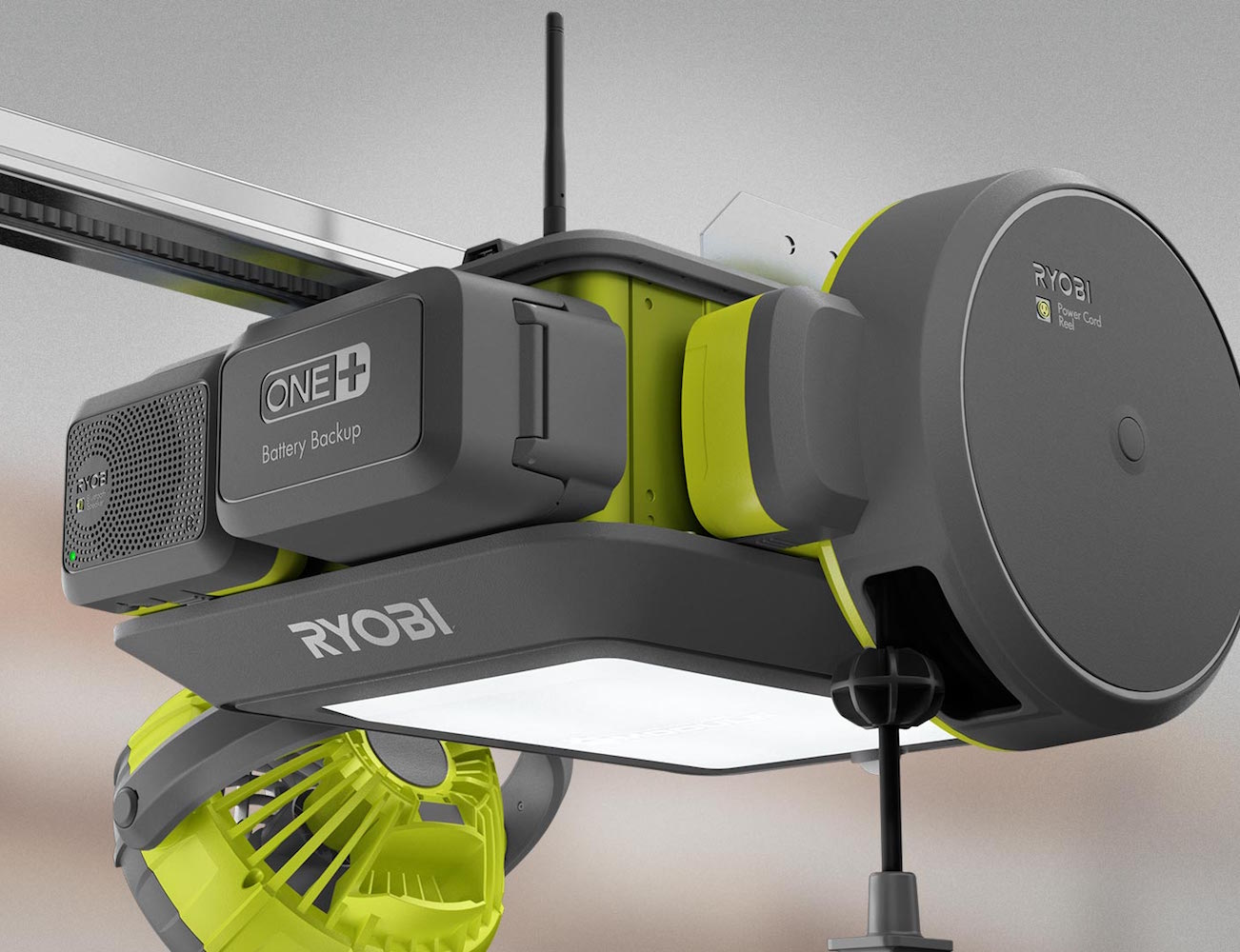 RYOBI UltraQuiet Garage Door Opener  Gadget Flow