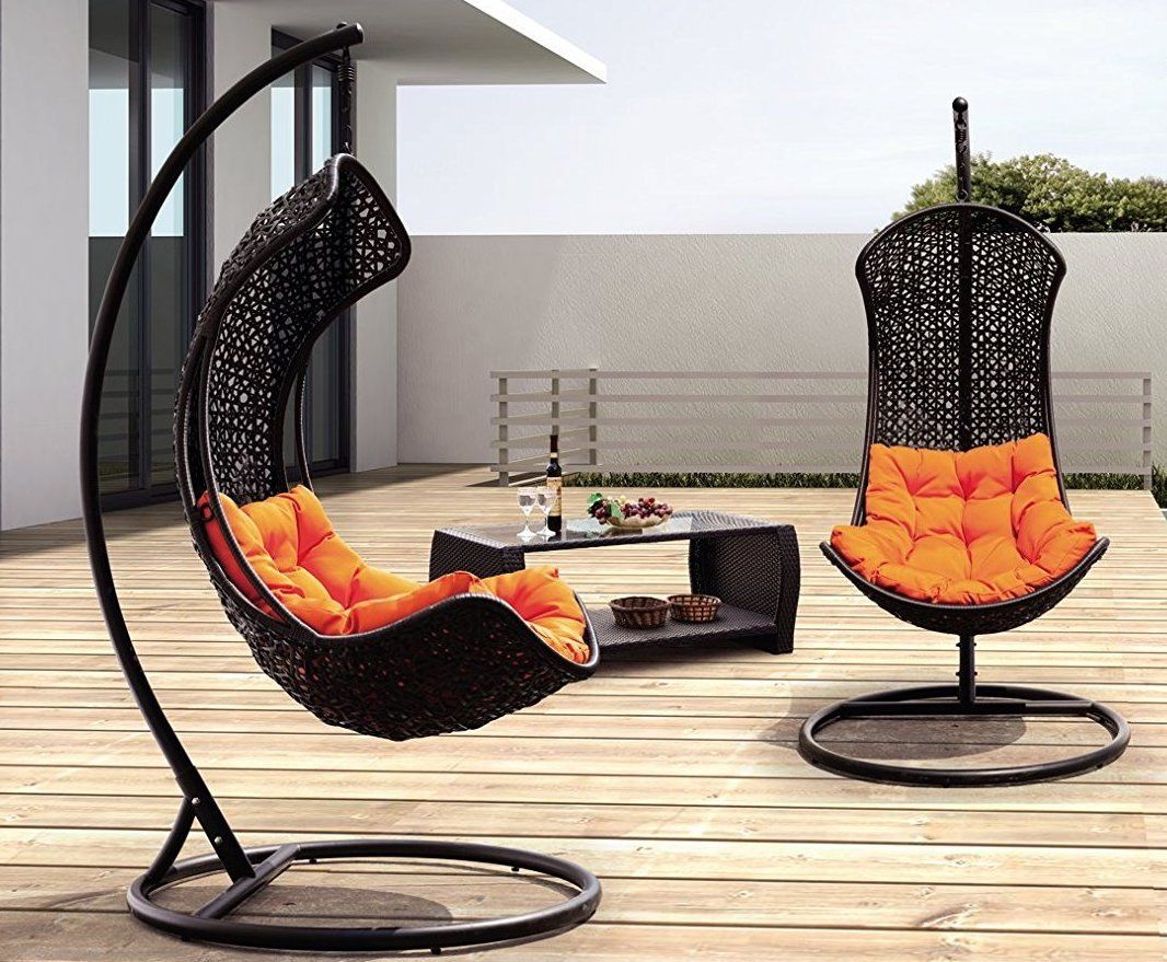 Swinging Chair Clove Balanced Porch Swinging Chair Gadget Flow