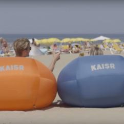 Air Sofa Kam Bad Camel Back Slipcover The Kaisr Boss Is An Inflatable Couch For Everywhere You Go