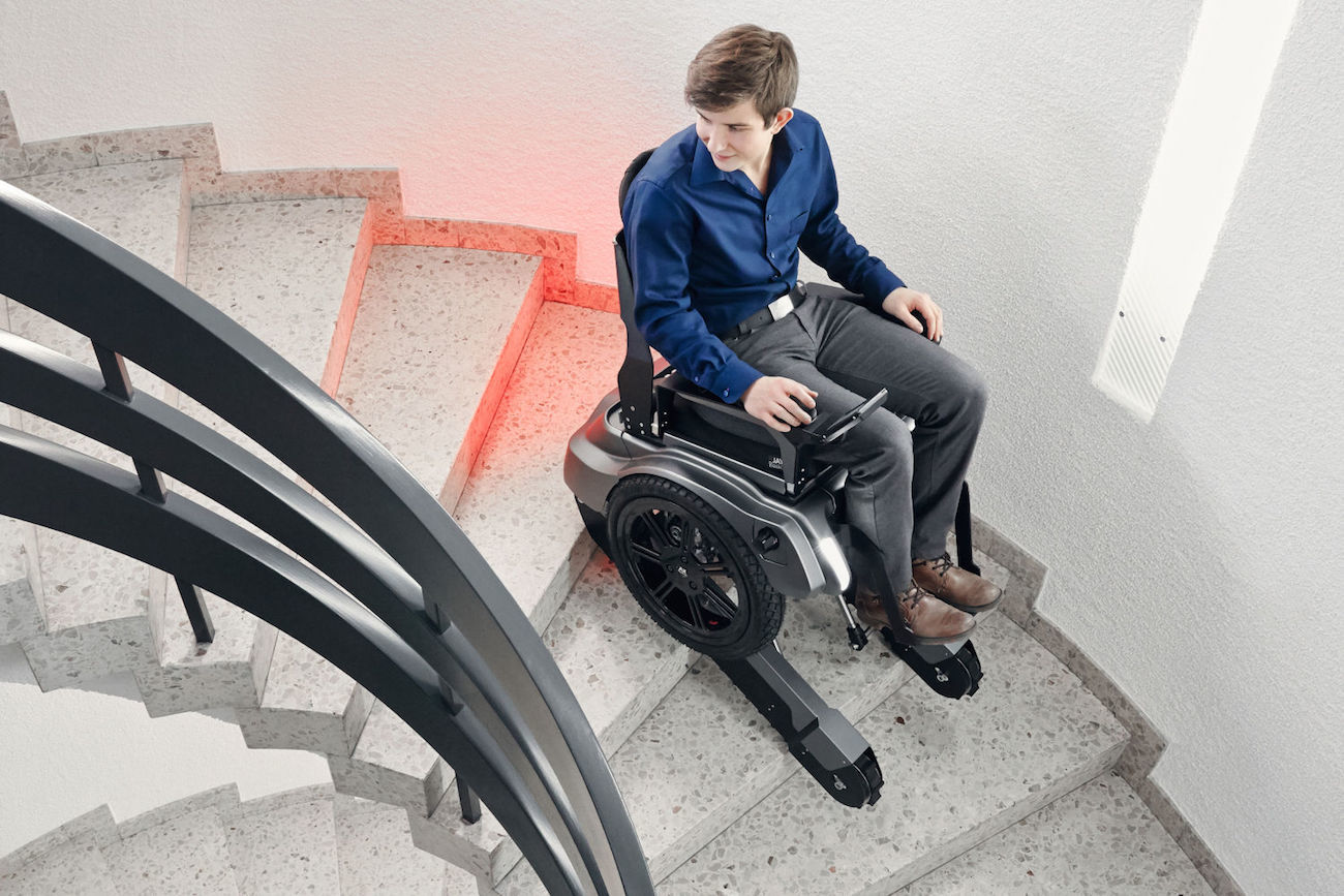 wheelchair lift for stairs childrens soft chairs scewo stair climbing  gadget flow