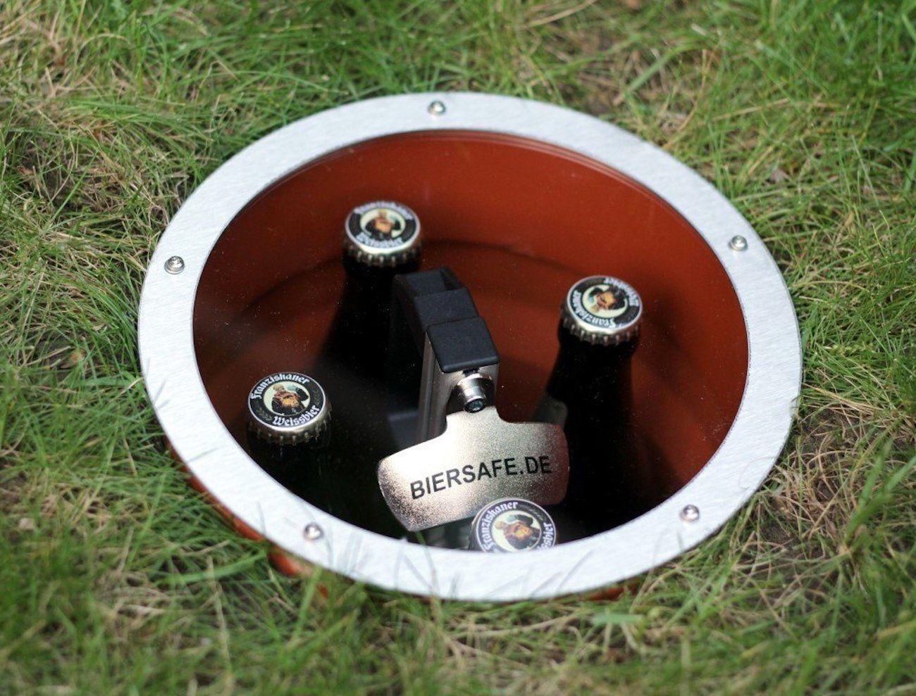 Biersafe Beer Storage Refrigerator Gadget Flow