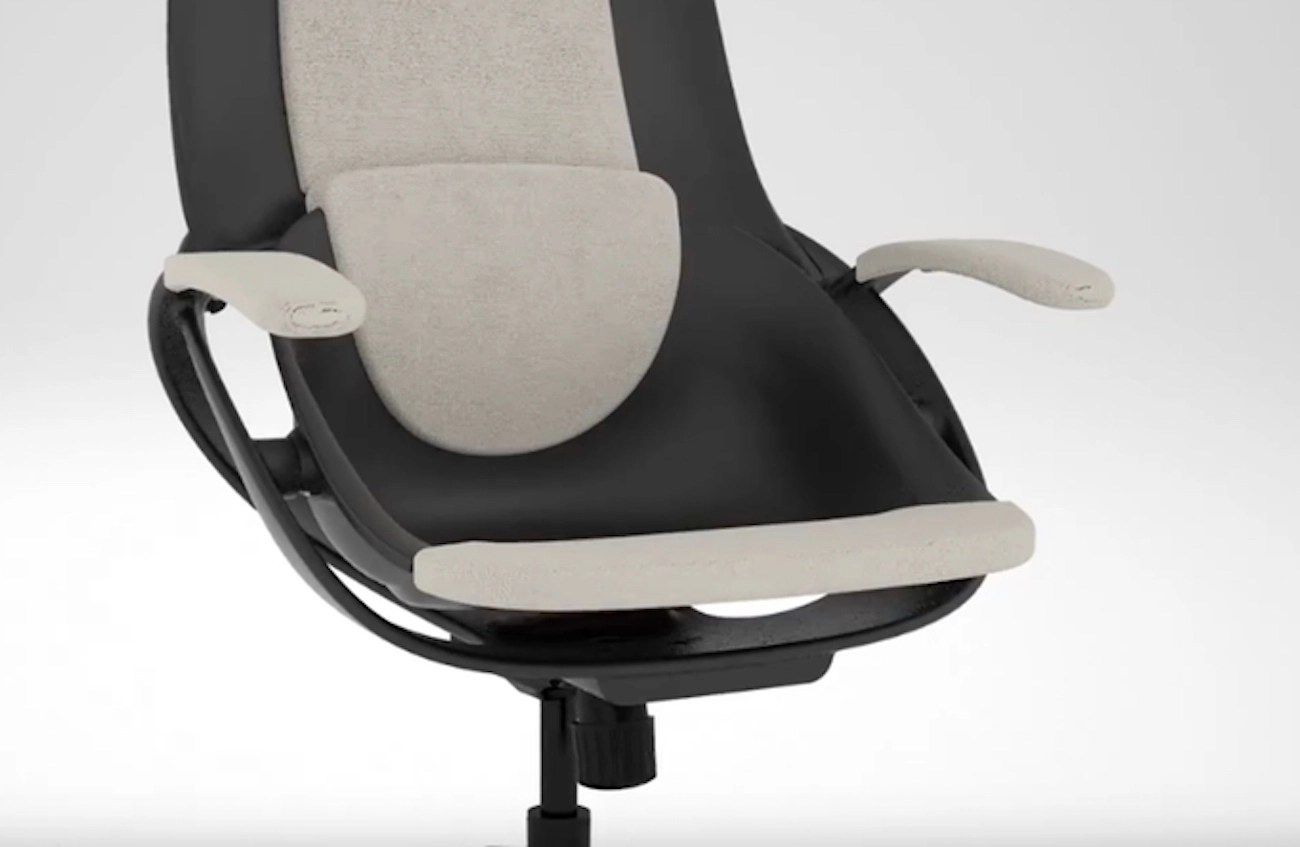 ergonomic chair kickstarter four chairs furniture and design backstrong sit in motion technology