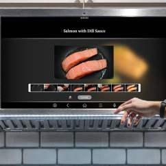 Ge Kitchen Appliances Mats And Rugs Family Hub Tablet  Gadget Flow