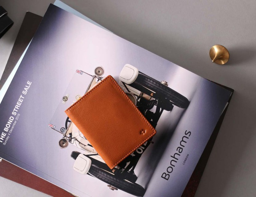 Αποτέλεσμα εικόνας για super slim leather wallet with rfid protection harber gif